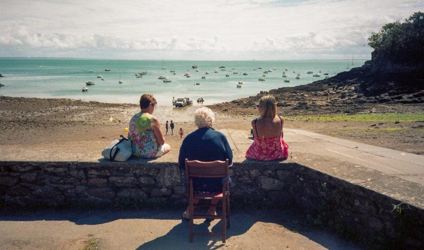 La vielle femme et la mer.