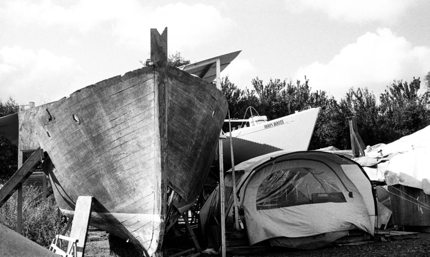 Camping sauvage.