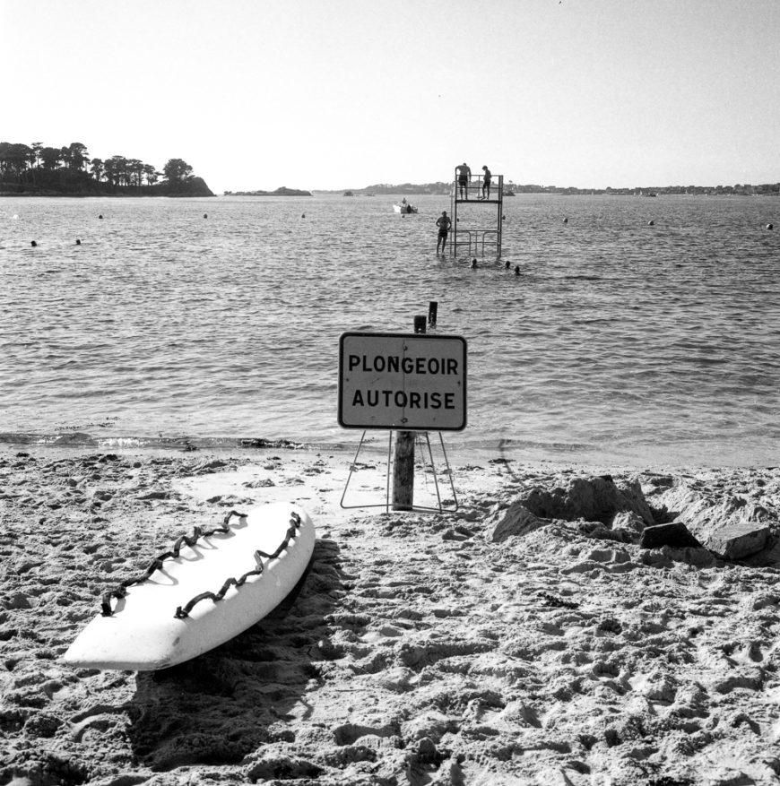 Plongeoir autorisé.